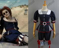 New Arrival Custom Made Sweeney Todd Mrs Lovett By The Sea Dress Costume Cosplay-in Costumes & Accessories from Apparel & Accessories on Ali...