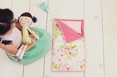 Doll Sleeping bag. Copyright charla anne