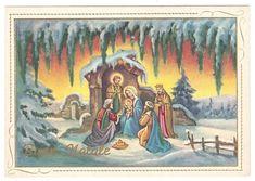BUON NATALE ANGELI Anges  Engel Nativita' - EUR 1,50. Conservazione: molto buona. Non viaggiata. 273571127921 San Mateo California, Nativity Painting, Holy Night, Reyes, Christmas, Craft, Births, Nativity Sets, Bike