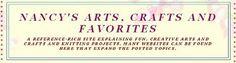 Nancy's Arts, Crafts and Favorites