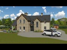 Trendy House Plans Ireland Story And A Half 46 Ideas Two Story House Plans, Dream House Plans, Modern House Plans, House Floor Plans, Youtube Design, House Designs Ireland, Ireland Homes, House Ireland, Self Build Houses