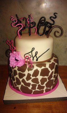 giraffe print cake Google Search For my cake peeps