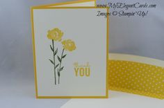 Stampin' Up! Painted Petals - Occasions 2015 - My Elegant Cards - Liz Bailey