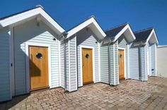 A seaside beach hut may become the most expensive in Britain after going on the market for a staggering Beach Shack, Beach Huts, George Clarke Amazing Spaces, Beach Hut Decor, Beach House Hotel, Seaside Beach, Beach Cottages, Devon Cottages, My Dream Home