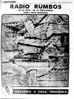 Radio Rumbos. Publicado el 11 de septiembre de 1953.