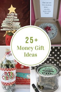 Sharing some Creative Ways to Give Money as a Gift not only for Christmas but for Birthdays, Graduation, or just because.