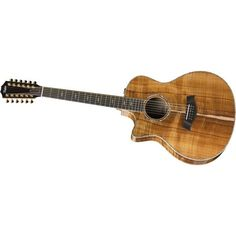taylor guitar koa 12 string acoustic taylor swift ❤ liked on Polyvore