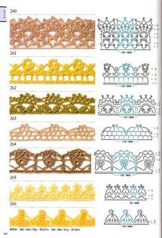 300 crochet patterns book - motifs,edgings - 2006 - Lita Zeta - Picasa Web Albums