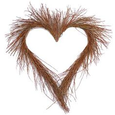 Birch Heart Wreath - Ten Wreaths