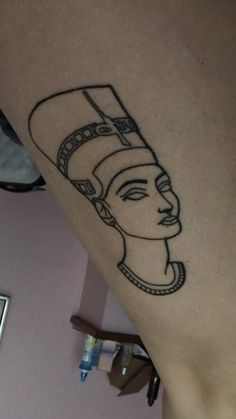 Queen nefertiti tattoo