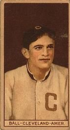 1912 Brown Backgrounds T207 #6 Neal Ball Front