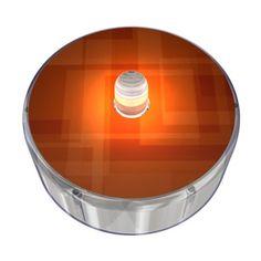 Orange Party Dot Design 010