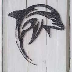 Dolphin string art all strung up