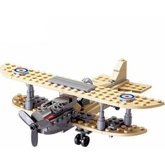 Brick Forces™ Lego Compatible WWI Sopwith Camel Fighter