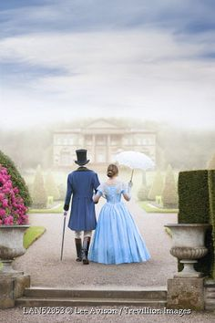 Trevillion Images - victorian-couple-on-country-estate