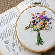 "1,251 Likes, 28 Comments - Erin McMom - Hand Embroidery (@erinmcmom) on Instagram: """"Be a rainbow in someone else's cloud."" ~Maya Angelou . #thatsdarling #ohwowyes #pursuepretty…"""