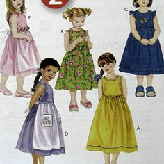 Childs Sleeveless Dress Apron Sewing Pattern Lined Bodice... https://www.amazon.com/dp/B01IVWYUE0/ref=cm_sw_r_pi_dp_x_MCTbzbEKVT7B7