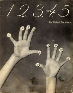 1,2,3,4,5 - a book for children by Robert Doisneau