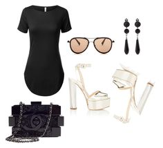"""""""..."""" by babygirlaliciaaa ❤ liked on Polyvore featuring beauty, Giuseppe Zanotti, Chanel, G-Star Raw and Givenchy"""