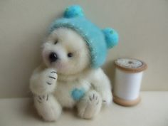 Minty 4 inches by Barney bears by BarneyBears4u on Etsy, £89.00