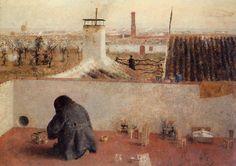 Painting by Antonio López García