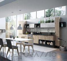#kitchen #design #interior #furniture #furnishings комплект в кухню Aran Cucine Mia, ACM03BGB