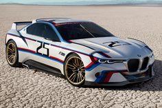 BMW 3.0 CSL Hommage R: Pebble Beach 2015 - Bilder - autobild.de
