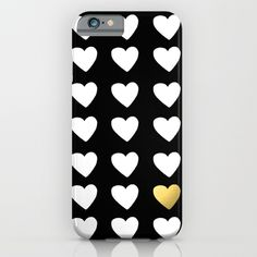Golden Heart iPhone & iPod Case