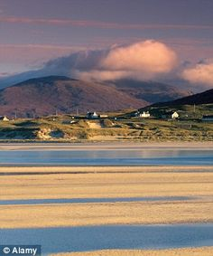 Luskentyre Bay in South Harris, Outer Hebrides, Scotland