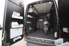 GK 170 Moto Hauler  Sprinter Vans build for the ultimate weekender