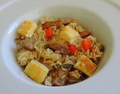 Arroz Frito con Verduras, Tortilla y Cerdo con Salsa Teriyaki Casera | Cocinando con las Chachas
