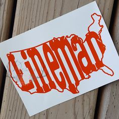 American Lineman Lineman Decal  Linewife Power Lineman