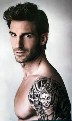 Totally just pinning this for the tattoo...it absolutely has nothing to do with the handsome, scruffy man sporting it.