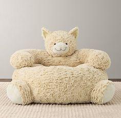 Textured Plush Cat Chair | Nursery Accessories | Restoration Hardware Baby & Child