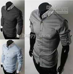 Wholesale Designer Men's Dress Shirts | men's clothing the casual shirt fashion men's designer dress shirts ...