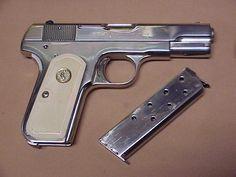Colt 1903 .32 acp Home Defense, Self Defense, War Machine, Machine Guns, 32 Acp, Pocket Pistol, Gun Rights, Fire Powers, Survival Equipment