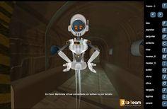 Já conhece a nossa solução Multimédia EZ-TOON?   É uma MARIONETA VIRTUAL! Esta ferramenta pode ser manipulada pelo utilizador através de BOTÕES ou TECLADO : http://ez-team.com/demos/toon/index.html   Espreite o nosso portefólio Digital Ez-Team, para mais soluções Multimédia: http://www.ez-team.com/demos//EzFolio