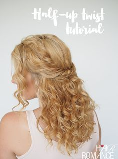 Simple is best with curly hair