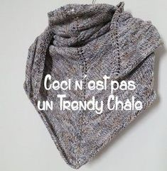 DIY tricot: châle Teruca Plus