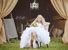 Unique Bridal Portraits | Bride| Outdoor Portrait | Wedding Dress | Wedding | Southern Bride | Southern Wedding |Shabby Chic Bride {Fresh.Unique.Captivating}  http://www.limelightphotoshop.com