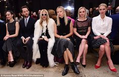 Star studded show! The fashion show's front row was almost as fashionable as the catwalk. ...