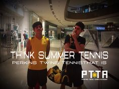 Thing #Perkinsired Tennis this summer @ThePTTA #Philippine #Tennis #Lessons #training #academy #association #Philippines #EdsaShagriLa