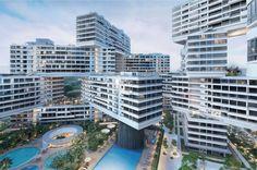 The Interlace / OMA/Buro Ole Scheeren (Singapura) Categoria: Habitação