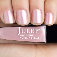 BNIB Lovely, lovely Julep Lois. Sexy pink shimmer in the perfect, classy shade.