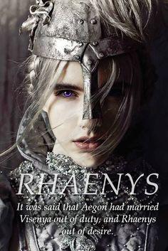 Rhaenys Targaryen, Sister-Wife of Aegon the Conqueror, Rider of Meraxes