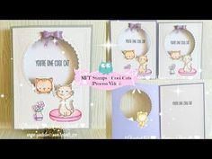 MFT Stamps Cool Cats   Process Video - YouTube