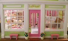 "My new little bakery is complete.   It's ""A Little Slice of Heaven"" Bakery.   Take a look around...                      My daughter design..."