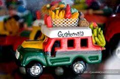 Chicken bus - handicraft