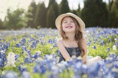 Dallas Bluebonnet Photography - Mini Sessions 2014 - Kristina McCaleb Photography