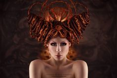 """""""demon wig"""" - by Ophelia Overdose - Model Designer Performer Artsy Photos, Creative Photos, Boho Style Dresses, Over Dose, Dark Beauty, Hottest Models, Beauty Photography, Portrait Photography, Cut And Color"""